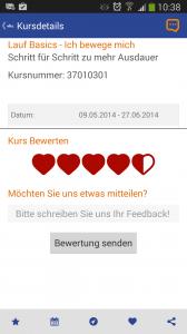 vhs.ServiceApp - Kunden-Feed-back