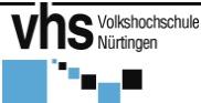 logo vhs Nuertingen